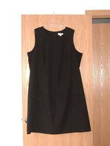 NEW w Tags Sag Harbor Long Modest BLACK Sleeveless Lined Dress Womens Plus 22w 3X in Morris, Illinois