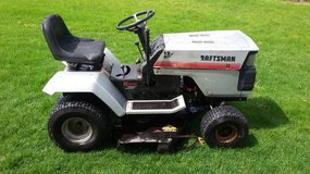 "Craftsman II 6 Speed Riding Mower, 38"" cut, 12HP, runs great in Morris, Illinois"