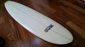 "//7FOOT-6""long-x-22""X-2-7/8""THICK SURFBOARD SURF BOARD in San Ysidro, California"