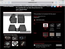 Weather Tech Floor Mats Front & Back for Mazda CX5 in Batavia, Illinois