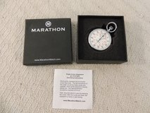 marathon single action stopwatch p/n st211003 15 jewels silver case 51168 in Fort Carson, Colorado