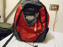 eastsport east sports red front bungee backpack 114080wm-red rn 97857 41054 in Huntington Beach, California
