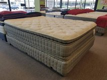 "MATTRESS SALE! 17"" THICK TWO SIDED PILLOWTOP MATTRESS! FREE DELIVERY in Lockport, Illinois"