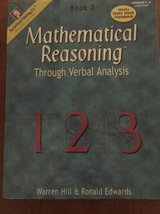 Mathematical Reasoning through Verbal Analysis in Chicago, Illinois