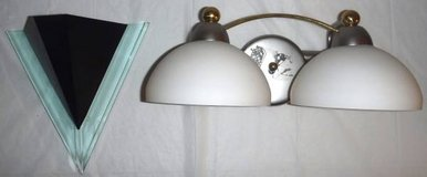 Wall Mount Sconce 1 Light -OR- 2 light Bathroom Utility Fixture in Chicago, Illinois