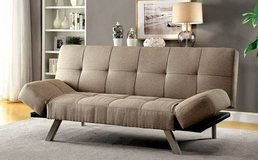ARLEEN Adjustable Arms Sofa Bed Futon FREE DELIVERY in Oceanside, California
