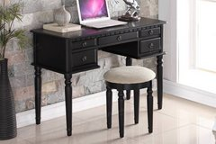 New Hardwood Writing Desk and Stool FREE DELIVERY in Vista, California