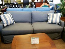 BLUE DENIM SOFA/LOVESEAT FOR SALE in Schofield Barracks, Hawaii