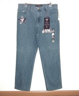 NEW w Tags $40 Gloria Vanderbilt AMANDA Embellished Jeans 16P 16 Petite Ultra Stretch in Morris, Illinois
