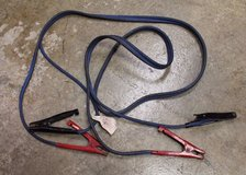 DELCO Twin Cable 4 Gauge Automotive Jumper Cables Heavy Duty 12 Foot Length in Naperville, Illinois