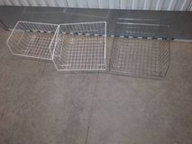 3 wire baskets in Travis AFB, California