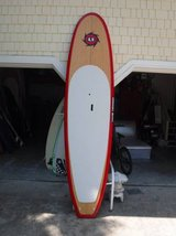 SUP > 10'6 /11 FOOT BAMBOO SUP/NEW/ FULL PACKAGE! in Wilmington, North Carolina