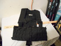 usgi black tactical duty gear molle load bearing vest size regular 41039 in Fort Carson, Colorado
