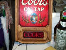 Coors Scrolling Light in Fairfield, California