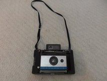 vintage polaroid automatic 2.0 land silver blue carry strap untested camera 34153 in Huntington Beach, California