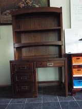 Desk with Overhead Hutch*4 Drawers*Vintage*Dovetail in Fort Leonard Wood, Missouri