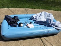 Portable toddler / Youth / child's mattress / bed w/ adapter and cover in Elgin, Illinois