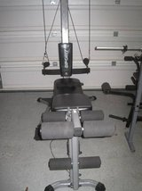 BowFlex Sport and Weider Pro Bench in Fort Rucker, Alabama