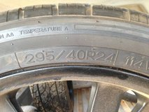 "24"" Rims with tires 5x5.5 in Alamogordo, New Mexico"
