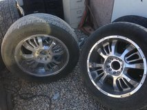 "20"" Rims with Tires 5x5.5 in Alamogordo, New Mexico"