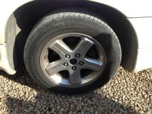 "16"" Rims with tires 5x4.5 in Alamogordo, New Mexico"