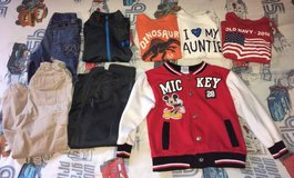 Boys 5T clothes lot, 17 pieces in Fort Campbell, Kentucky