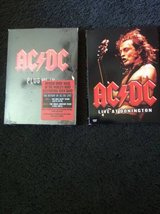 AC/DC Plug Me In DVDs (not opened) plus Live at Donnington in Macon, Georgia