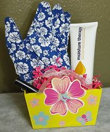 spring yellow garden basket great gift for spring or mother's day in Kingwood, Texas
