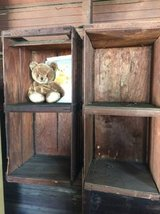 2 wooden wall crates   $25 EACH in Bartlett, Illinois