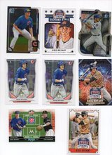 CHICAGO CUBS KRIS BRYANT ROOKIE CARDS in Oswego, Illinois