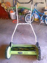 GreenWorks  18-Inch Reel Lawn Mower in Elgin, Illinois