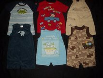Boys 0-3M 3-6M Summer One Piece Outfit Romper Clothes Lot in Silverdale, Washington
