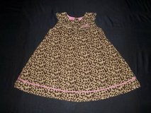 NWOT Gymboree Girls Size 5T Cheetah Print Corduroy Jumper Dress in Silverdale, Washington