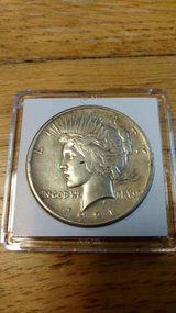 1921 Peace Dollar in Fort Leavenworth, Kansas