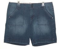Sanctuary Live Life Flap Pocket Denim Jean Shorts Womens 16 in Yorkville, Illinois