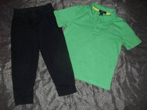 Boys size 4T Gap Kids Shirt & Jumping Beans Joggers in Silverdale, Washington