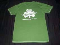 "BUDWEISER ""RESPONSIBILITY MATTERS"" Green Shamrock T-Shirt Size MEDIUM in Silverdale, Washington"