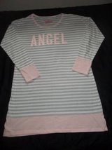 "Victoria's Secret Size Small Gray & White Striped ""ANGEL"" Nightgown in Silverdale, Washington"