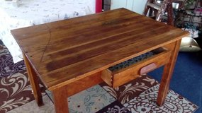 Antique Library Table in New Lenox, Illinois
