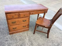 Solid Maple Desk Vintage 1940s in Vacaville, California
