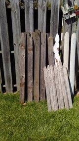 Lot of Old Fence Boards in Joliet, Illinois