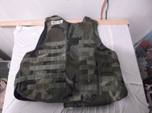 interceptor ballistic armor iba bdu woodland camo large 40718 in Huntington Beach, California