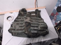 interceptor ballistic armor iba bdu woodland camo large 40716 in Huntington Beach, California