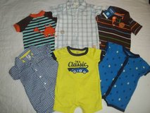 Baby Boys 6M Carters Summer One Piece Outfit Rompers in Silverdale, Washington