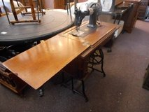 Antique Sewing Machine in Table in Elgin, Illinois
