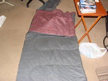 Coleman big [tall]sleeping bag new 81 inch in Bartlett, Illinois