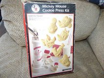 Mickey Mouse Cookie Press Kit in Shorewood, Illinois