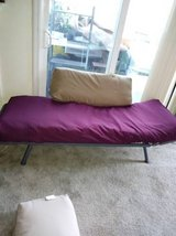 Metal Springs Twin Size Folding Ends Couch Love Seat Bed Frame Cot in Roseville, California