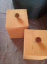 wood boxes w knobs in Bolingbrook, Illinois