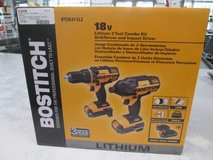 Bostitch 18V 2 tool combo kit in Cherry Point, North Carolina